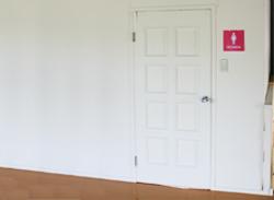 dressing- room
